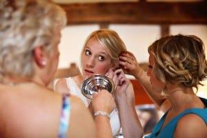 bride & bridesmaids prep