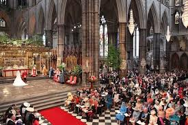 altar, Westminster Abbey for William & Catherine Wedding
