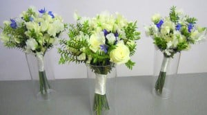 Sweet Peas Bridal Bouquets